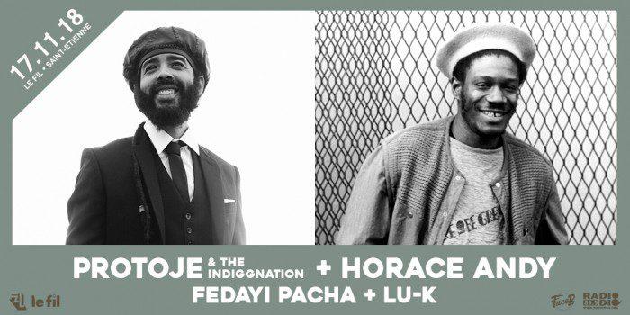 Protoje + Horace Andy + Fedayi Pacha