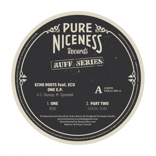 """Echo Roots feat ECU - 12"""" Pure Niceness Records PNR12-003"""