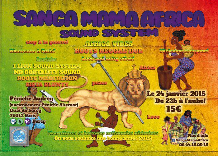 Sanga Mama Africa Sound System