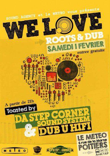 WE LOVE ROOTS & DUB @ Le MéTéO