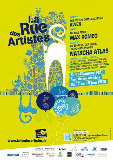La Rue Des Artistes 2016
