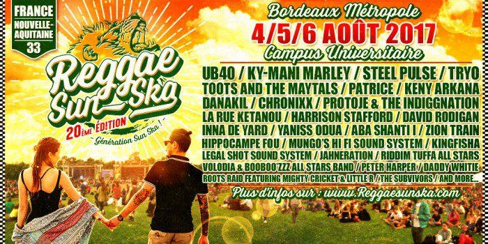 Reggae Sun Ska 2017