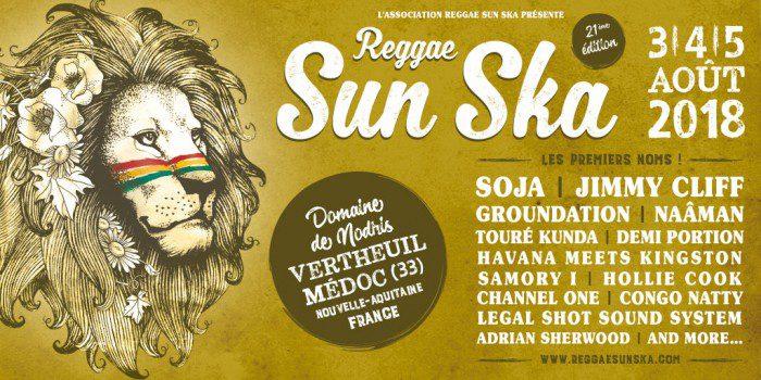 Reggae Sun Ska 21ème édition - les premiers noms