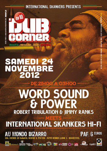 Rennes Dub Corner 10 Word Sound & Power