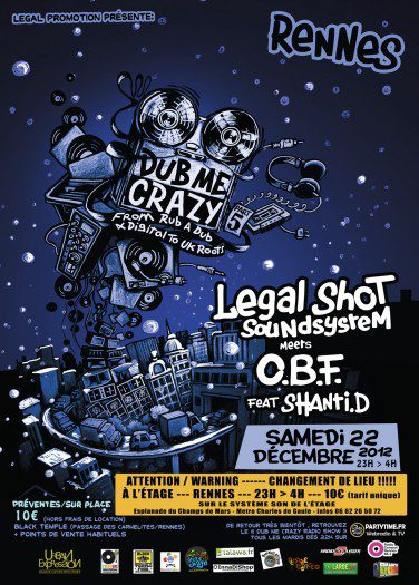 Rennes Dub Me Crazy # 5 Legal Shot