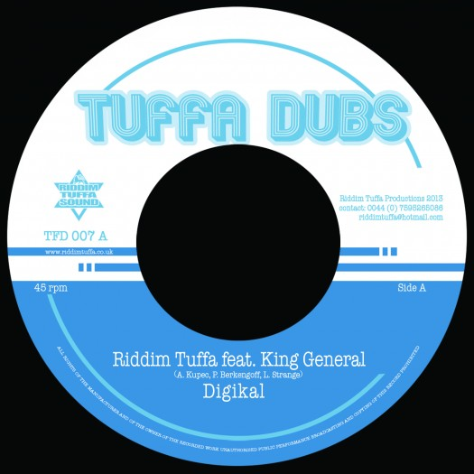Riddim Tuffa feat. King General - Digikal