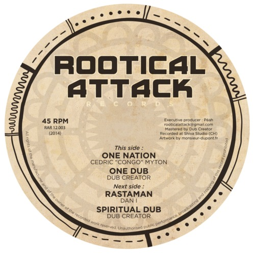 Rootical Attack Records - RAR12-003