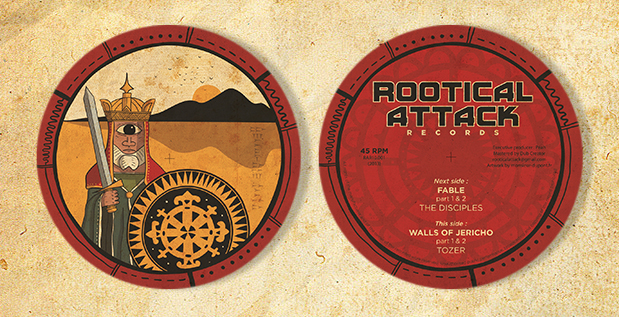 "10"" Rootical Attack Records"