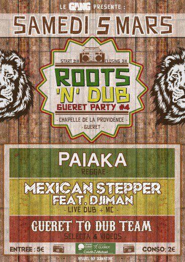 Roots'N'Dub Gueret Party #4