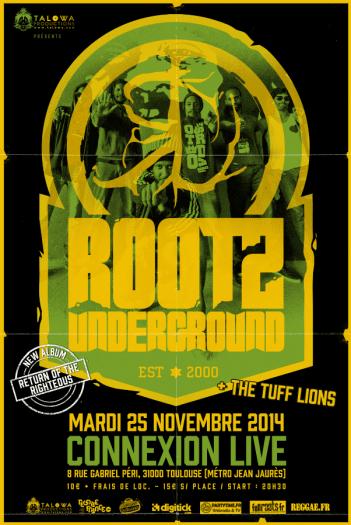 Rootz Underground à Toulouse