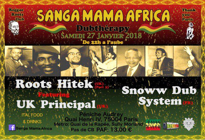 Sanga Mama Africa & Roots Hitek & Snoww Dub Sound System