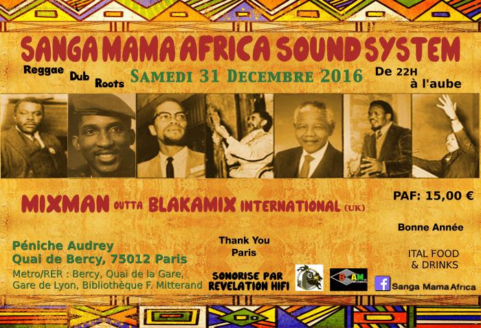Sanga Mama Africa & Mixman