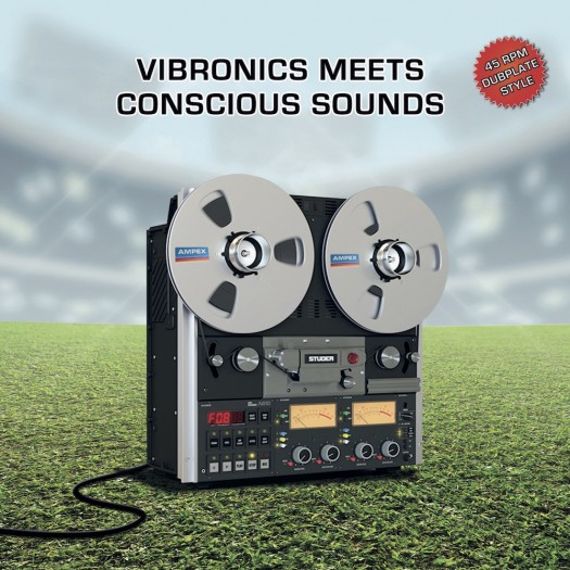 Vibronics meets Conscious Sounds - Blaze A Fire / Hail Up