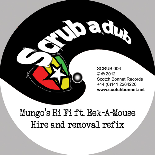 Mungos Hi Fi feat. Eek-a-Mouse, Solo Banton, Ruben Da Silva - SCRUB006