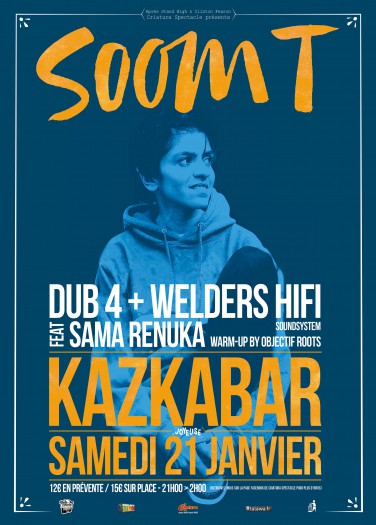 Soom T + Dub 4 + Welders Hi Fi + Sama Renuka
