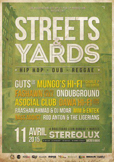 Streets & Yards 2015