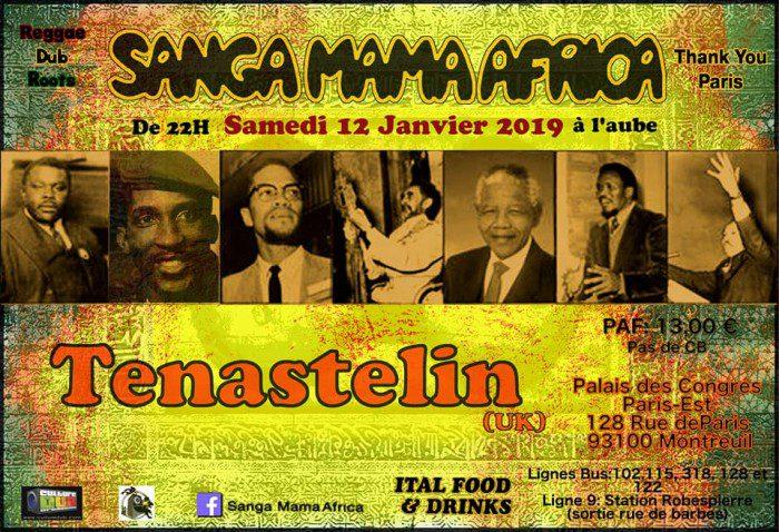 Sanga Mama Africa & Tenastelin
