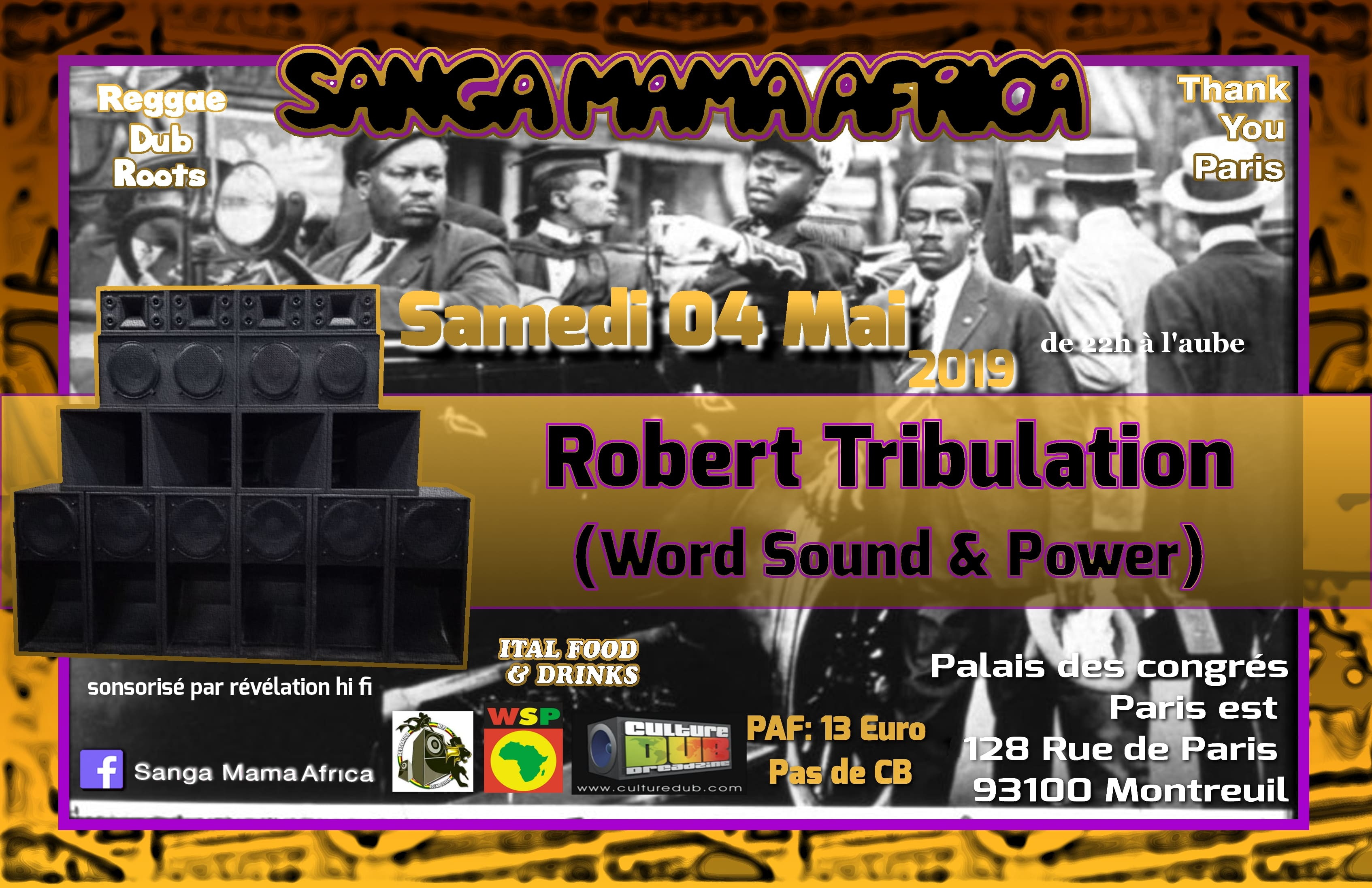 Sanga Mama Africa & Robert Tribulation