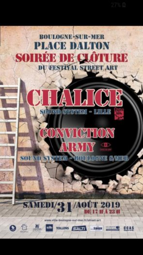 Chalice Sound System / Conviction Army Sound System