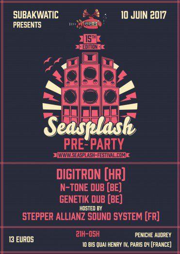 15th Seasplash Pre-Party