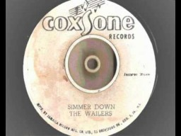 "7"" Simmer Down - The Wailers"