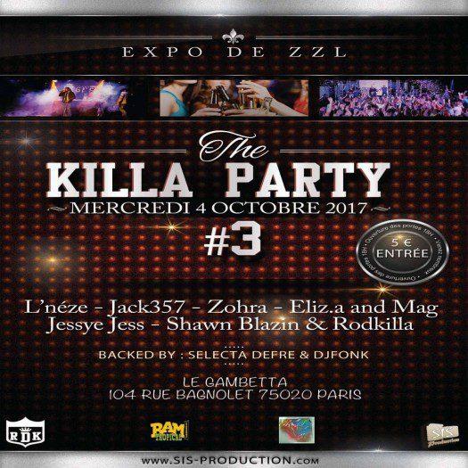 The Killa Party * 3