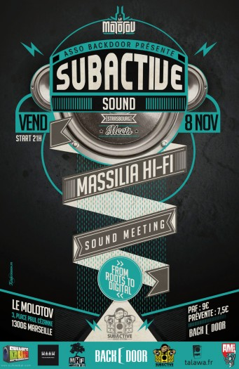 Subactive Sound meets Massilia Hi-Fi