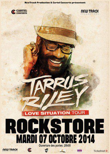 Tarrus Riley @ Le Rockstore