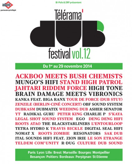 Télérama Dub Festival vol.12