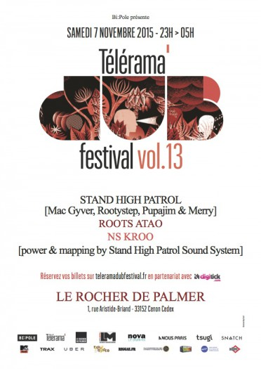 Telerama Dub Festival vol.13 @ Bordeaux