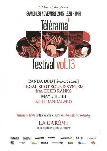 Telerama Dub Festival vol.13 @ Brest