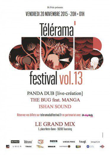 Telerama Dub Festival vol.13 @ Lille
