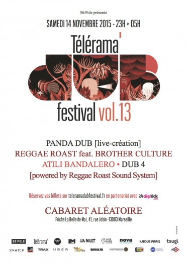 Telerama Dub Festival vol.13 @ Marseille