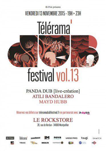 Telerama Dub Festival vol.13 @ Montpellier