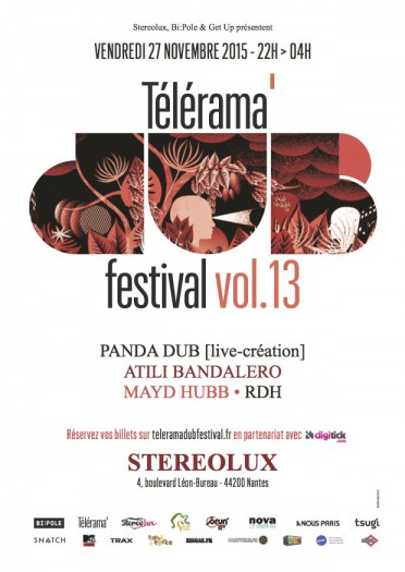 Telerama Dub Festival vol.13 @ Nantes