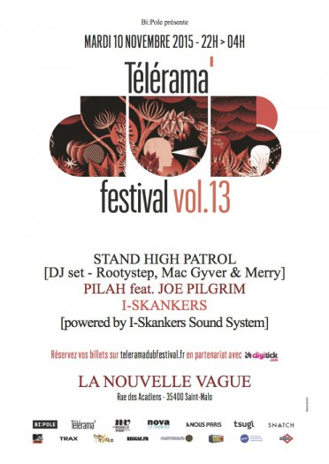 Telerama Dub Festival vol.13 @ Saint-Malo