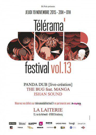 Telerama Dub Festival vol.13 @ Strasbourg