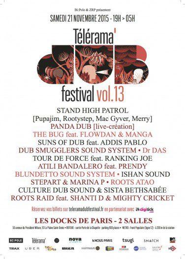 Telerama Dub Festival vol.13 @ Paris