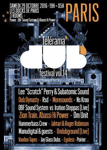 Télérama Dub Festival #14 @ Paris