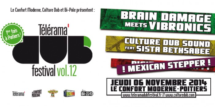 Télérama Dub Festival vol.12 @ Poitiers