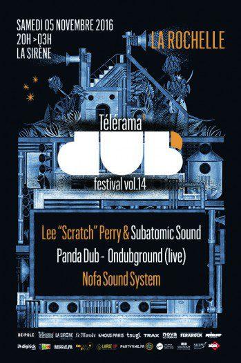 Télérama Dub Festival #14 @ La Rochelle