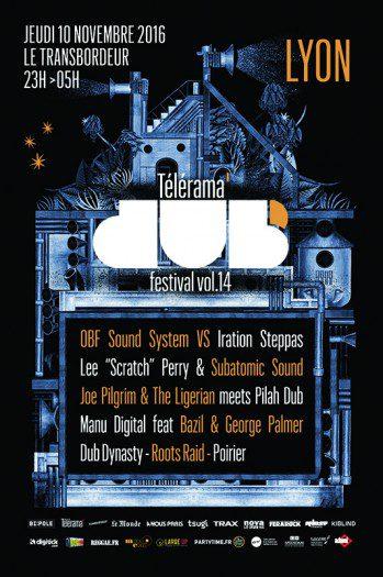 Télérama Dub Festival #14 @ Lyon