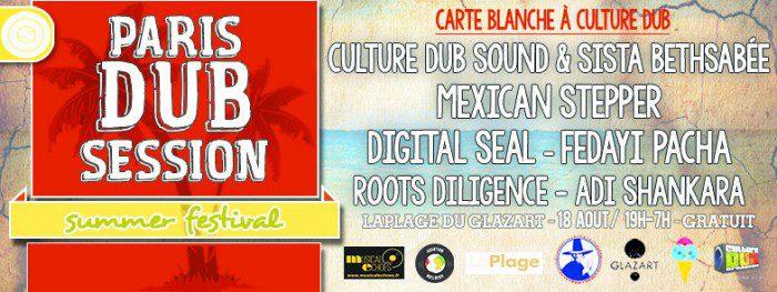 Paris Summer Dub Session #5 – Carte Blanche à Culture Dub