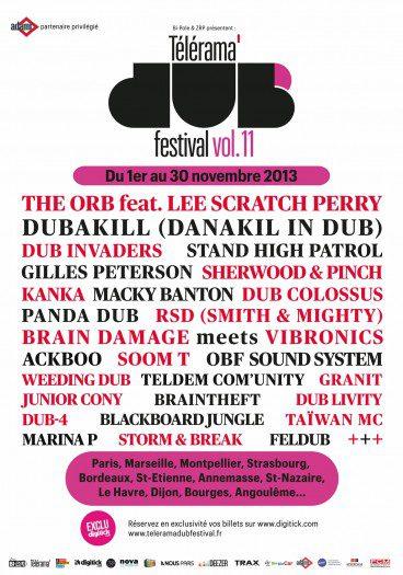 Télérama Dub Festival vol.11