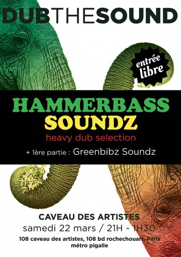 DUB THE SOUND present HAMMERBASS SOUNDZ