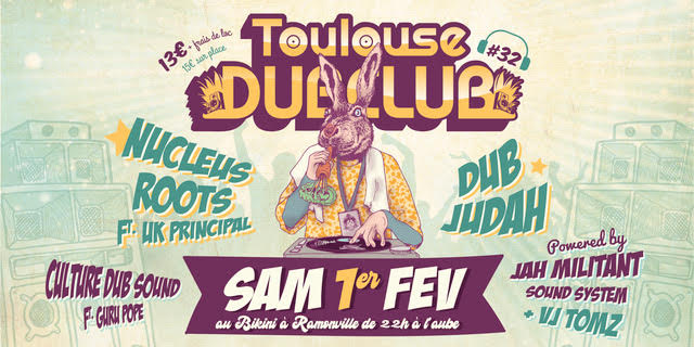 Culture Dub Show – 16 Avril 2019 – Radio Pulsar