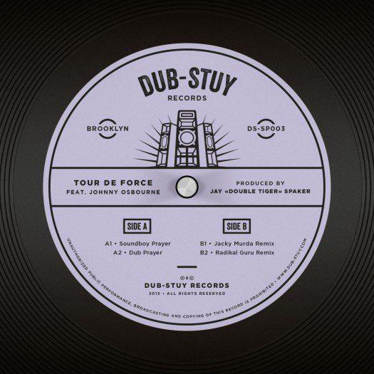 Tour De Force feat. Johnny Osbourne - Soundboy Prayer