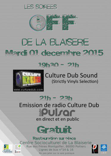 Soirée Off - Culture Dub / Radio Pulsar