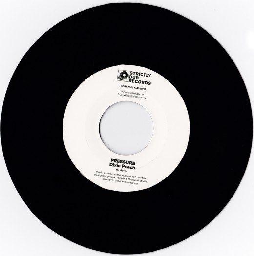 """Variedub feat Dixie Peach - 7"""" SDRV7001"""
