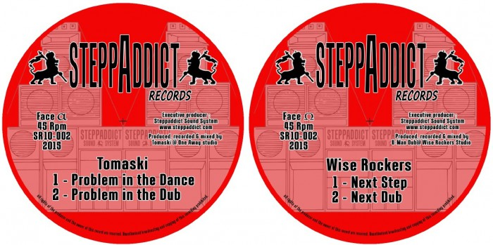 "10"" Steppaddict Records SR10-002"